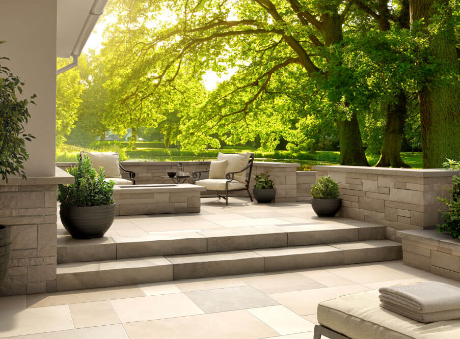 Steps & Treads - Polycor Hardscapes