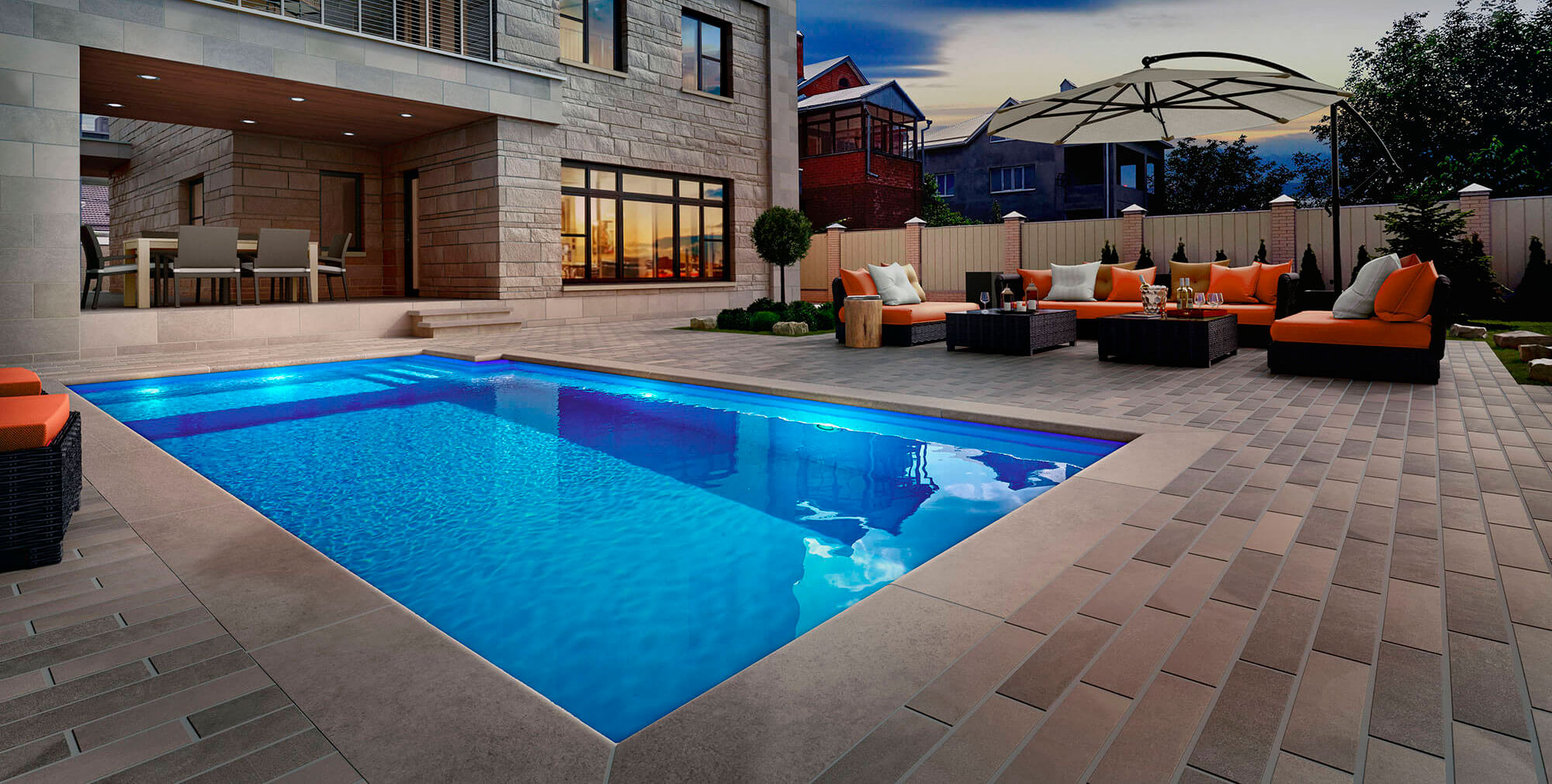 Pavers & Pool Coping - Polycor Hardscapes