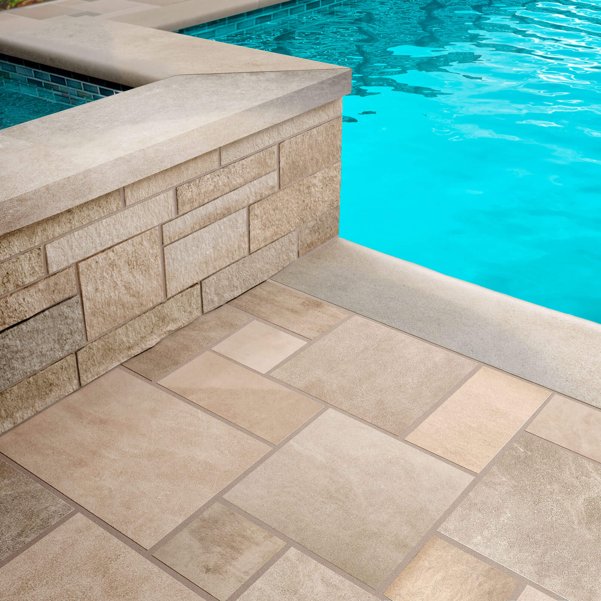 Poolside Project 5 - Polycor Hardscapes